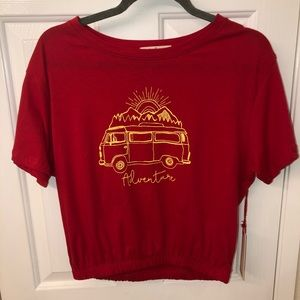 Tops - Size L NWT novelty tee shirt